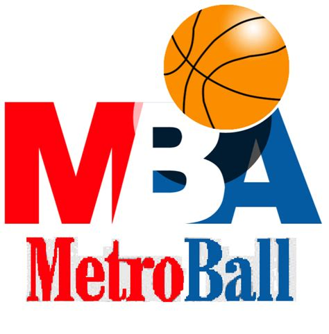 Mba League Logo by Metropolitan Basketball Association Logopedia Fandom