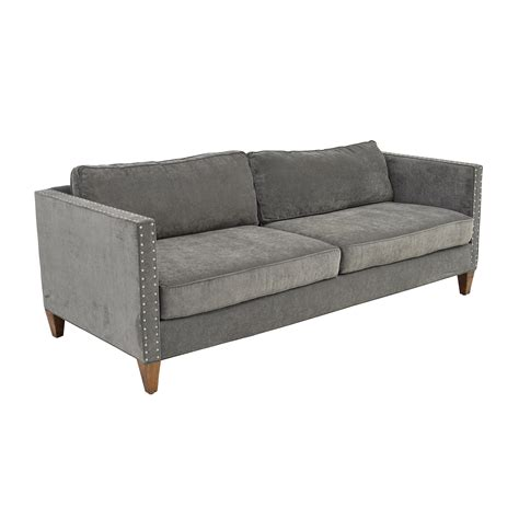 grey studded sofa hereo sofa