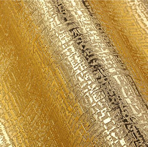 wallpaper 3d embossed aliexpress com buy modern luxury gold wallpaper 3d