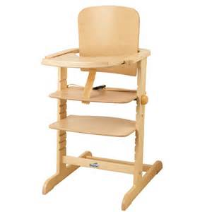 chaise haute 233 volutive family naturel geuther pour enfant