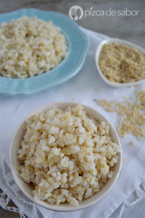 arroz integral como cocinar c 243 mo cocinar arroz integral perfecto receta f 225 cil sencilla
