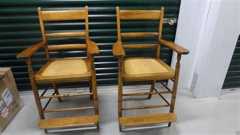 billiard spectator bench pair of beautiful maple antique billiard saloon spectator