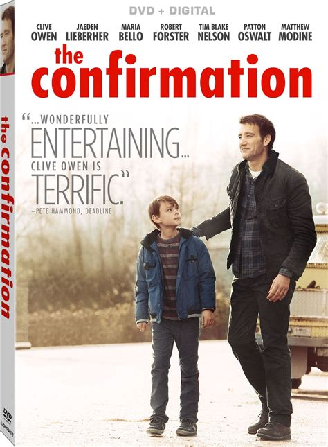 The Confirmation DVD Release Date June 7, 2016