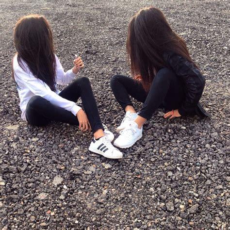 best black adidas bestfriends bff black bw image 3778490 by