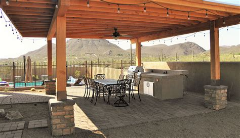 outdoor kitchens tucson az sonoran gardens