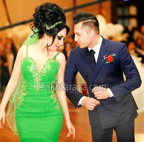 #afghan #style #wedding #green #bride #groom #nekah #dance