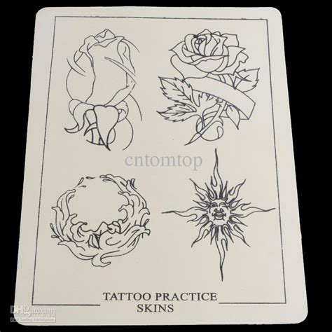 tattoo practice designs synthetic designs practice skins skin