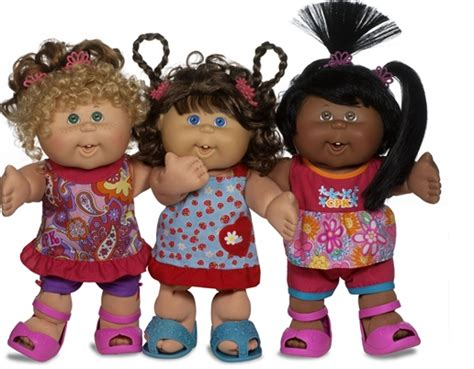 pics of cabbage patch dolls hairstyles cabbage patch goes back to the 80 s