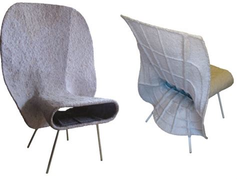 Newspaper Chair by Tal Gur S Daily Chair Finds A New Use For Yesterday S