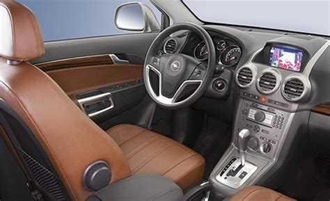 opel antara interior car and driver