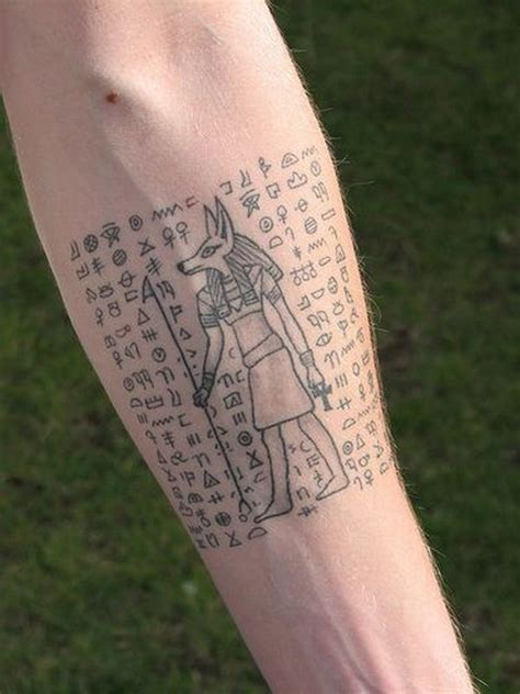 hieroglyphic tattoos 50 timeless images of tattoos