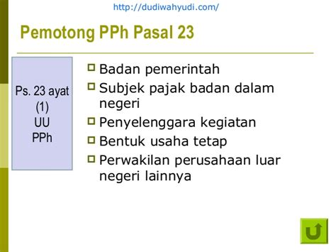 Praktikum Pph Orang Pribadi Dan Badan Edisi 3 Weddie Damayanti pph pasal 23 2009 edisi 30 okt 2010