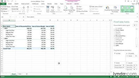 formula to calculate gross margin in excel how to