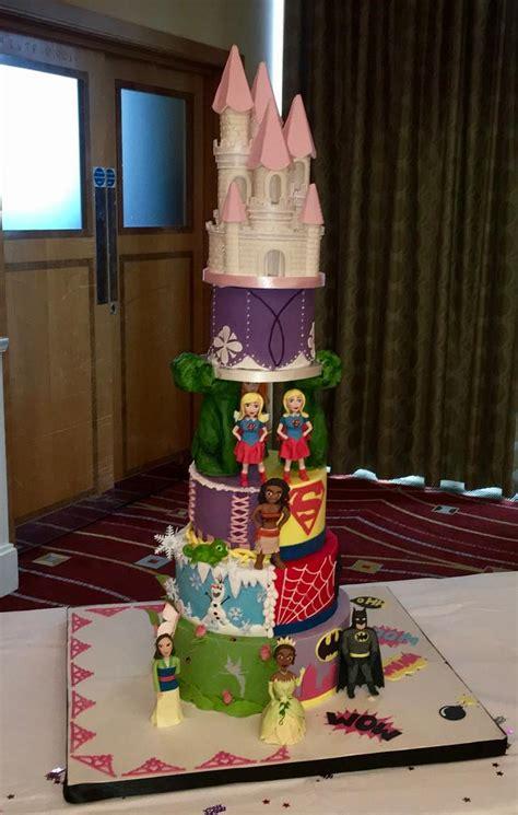 princess  superhero cake cake  maria louise cakes