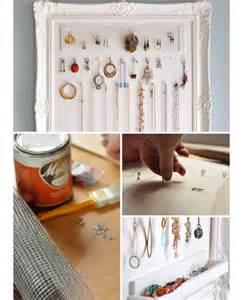 Diy Organization Ideas For Small Spaces 10 Diy Jewelry Storage Ideas Craftriver