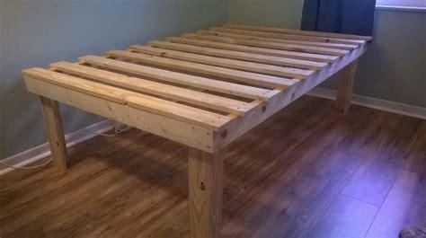 Simple Platform Bed Frame Plans 25 Best Ideas About Platform Bed Plans On Bed Frame Plans Rustic Platform Bed And