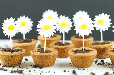 diy flower pot cookies recipe pictures photos and images super cute flower pot cookies living sweet moments