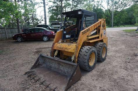1997 daewoo dsl 801 bobcat skid loader skid steer bil