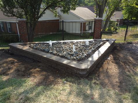 Rock Garden With Water Feature Rock Garden With Water Features Lawn Systems Inc