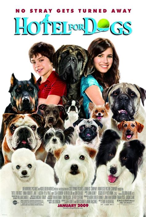 hotel for dogs hotel for dogs 2009 poster freemovieposters net