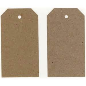 recycled swing tags eco brown 230gsm duplex swing tags