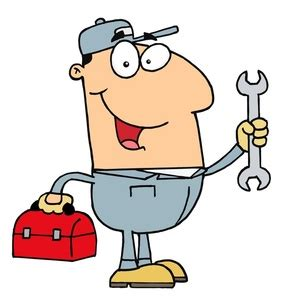 Wonderful Christmas Tree Repair Service #4: Mechanic-clipart-handyman_or_mechanic_holding_a_toolbox_and_wrench_0521-1003-2614-5214_SMU.jpg