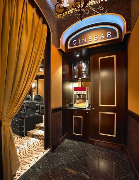 dream home theatermedia room  snack bar area