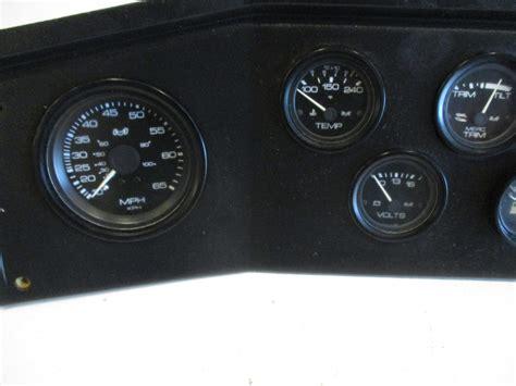 boat dash gauges marine boat dash panel gauge cluster 23 1 2 quot x 7 1 4