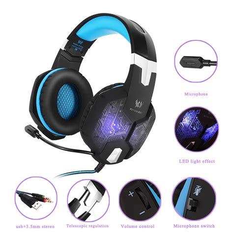 Headset Bass Premium ogg premium g bass surround stereo headphones for
