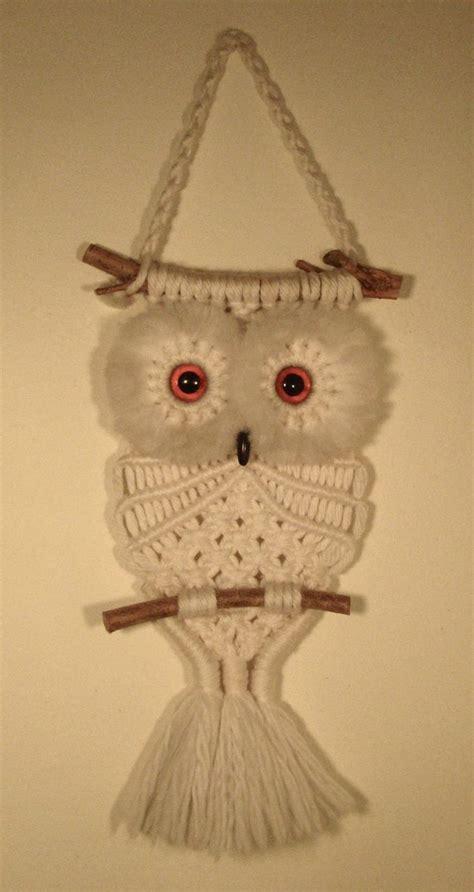 macrame owl best 25 macrame owl ideas on diy owl necklace