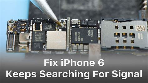 iphone   searching  signal logic board repair
