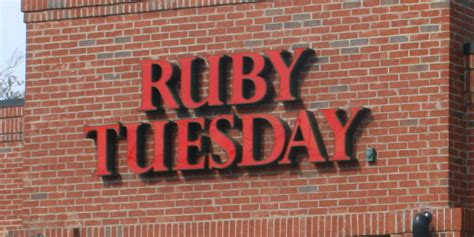 ruby tuesday waterville me i 95 exit guide