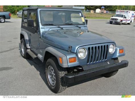 gunmetal jeep 1997 gunmetal pearl jeep wrangler se 4x4 92789704 photo