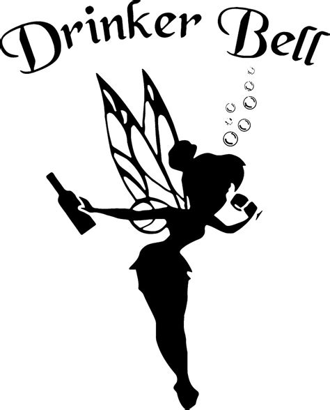 Baby Wall Stickers quot drinkerbell dark quot by nitanimorina redbubble