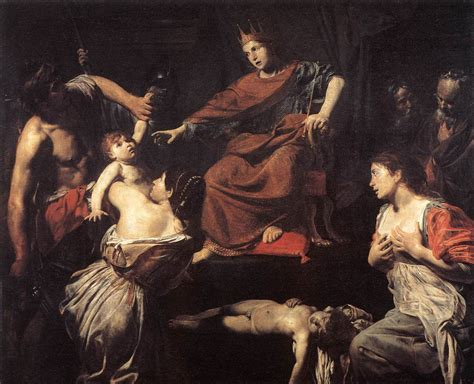 The Judgment Of by King Solomon The Bible Through Artists