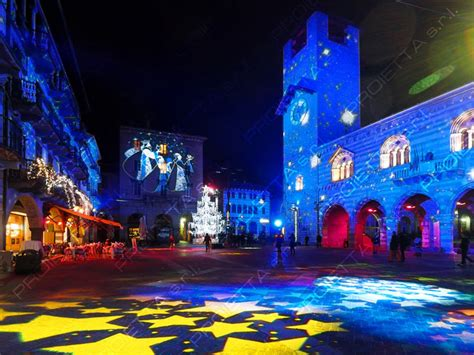 illuminazioni natale projections with image projectors