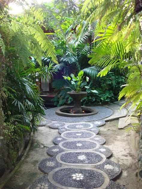 backyard pathways beautiful backyard pathways dig this design