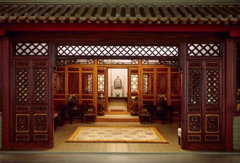 Colonial House Plan e 30 chinese interior traditional the art institute of