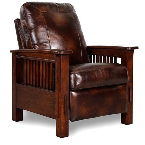 mission style adaptation of the leather club chair 17 best images about craftsman style on