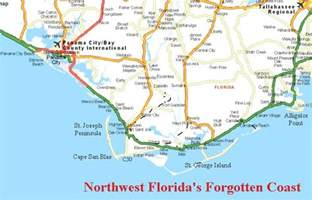 panoramio photo of map of the forgotten coast florida