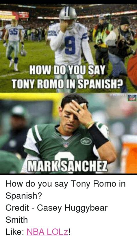 How Do You Say Meme - how do you say tony romo inspanishp marnsanchez how do you