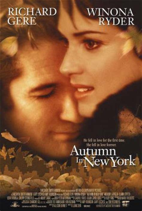 imagenes pelicula otoño en nueva york oto 241 o en nueva york 2000 filmaffinity
