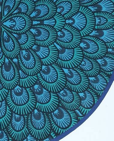 Peacock Blue Rug by Peacock Blue The Decorologist