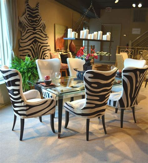 zebra print dining room chairs 9 best images about classic black with a twist on