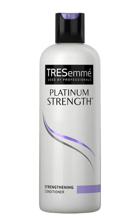 Shoo Dan Conditioner Tresemme tresemme platinum strength shoo makeupalley