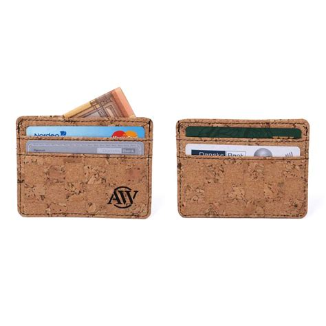 cork card holder template cork card holder aarni wallet made of cork