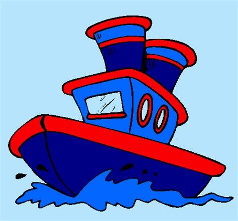 barco crucero dibujo barco dibujo color imagui