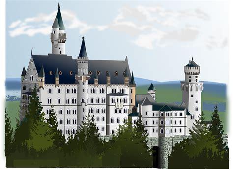 Free vector graphic: Neuschwanstein, Castle   Free Image on Pixabay   161761