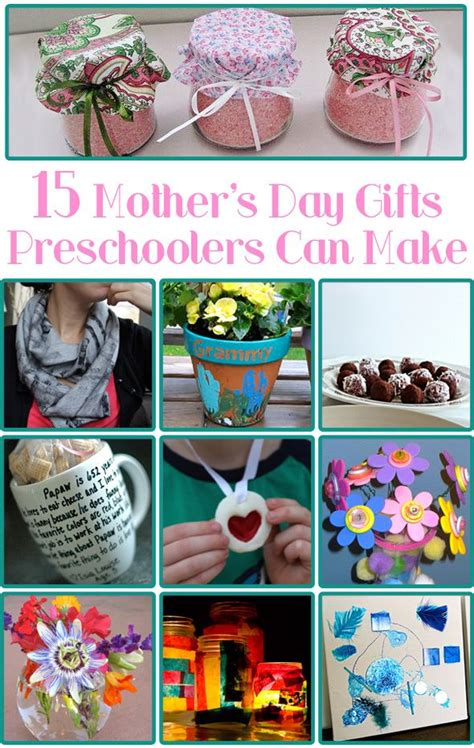make s day gift 15 s day gifts preschoolers can make mothers