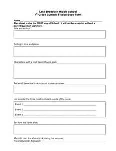 book report template middle school best photos of book report template middle school middle